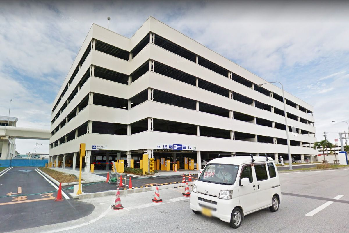 Naha Aiport P3 Multi-level parking lot
